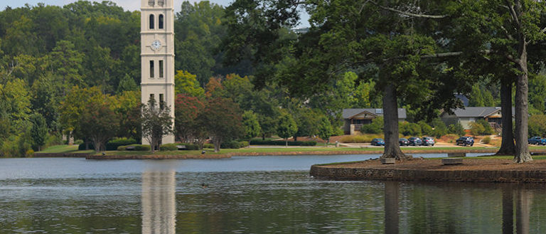 Furman University's Belltower