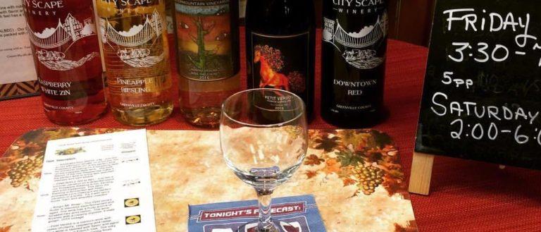 Greenville Jerky & Vine Wine Tasting