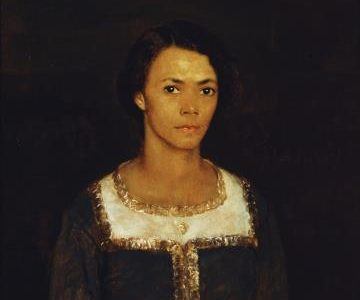 Emma (1917), oil on canvas by Sidney Dickinson