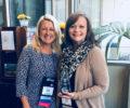 Tami Miller, Greenville Chamber Leadership Development Director, receiving national award.