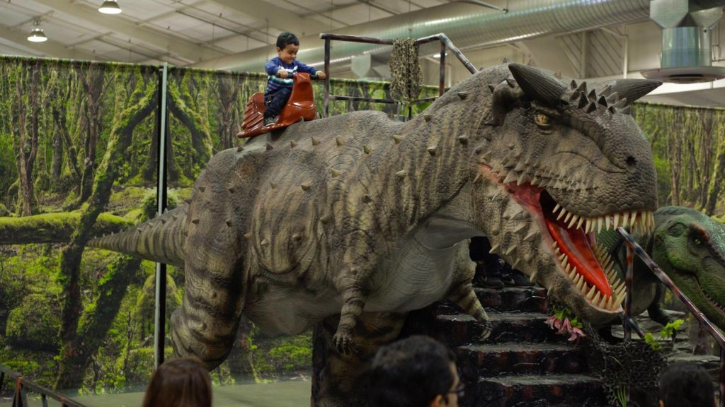 Jurassic Quest Takes Over Greenville S Td Convention