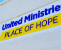 The exterior of United Ministries's Place of Hope.