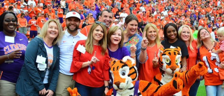 The Clemson University College of Education honors teachers every year during Extra Yard for Teachers.