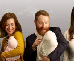 The cast of The Warehouse Theatre's Cry It Out.