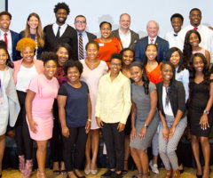Students from the Erwin Center Summer Scholars program at Clemson University.