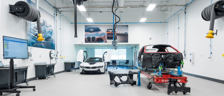 A BMW training facility in Spartanburg.