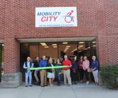 The grand opening of Mobility City Upstate.